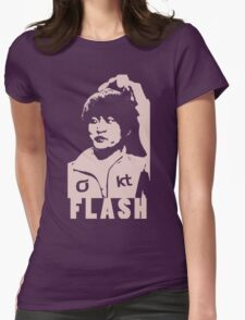 Flash Womens Fitted T-Shirt
