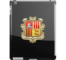 Andorra - Coat of Arms  iPad Case/Skin