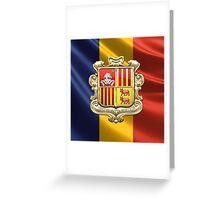 Andorra - Coat of Arms  Greeting Card