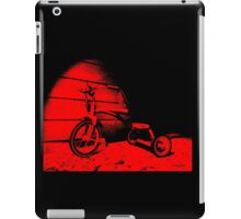 Red Tricycle iPad Case/Skin