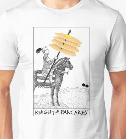 Knight of Pancakes Breakfast Tarot Unisex T-Shirt