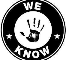 """Skyrim // Dark Brotherhood """"We Know"""" Logo by peachy peachy"""