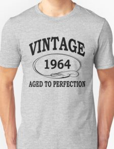 Vintage 1964 Aged To Perfection T-Shirt