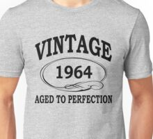 Vintage 1964 Aged To Perfection Unisex T-Shirt