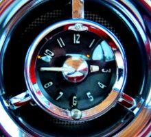 Pontiac 1954 Clock Sticker