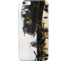The last two flying Lancasters at RAF Waddington iPhone Case/Skin