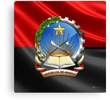 Angola - Coat of Arms  Canvas Print