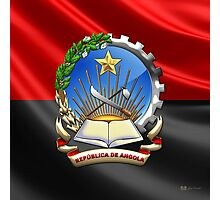 Angola - Coat of Arms  Photographic Print