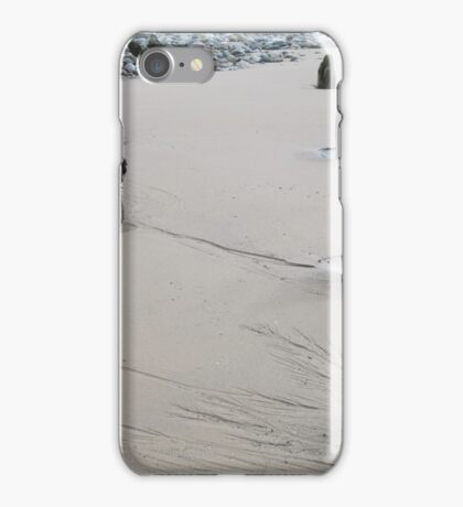 About two hundred year old wooden stumps from a tower put up on Fleetwood beach to warn small fishing boats to keep clear , and  find the safe way home befor rader E.T.C. iPhone Case/Skin