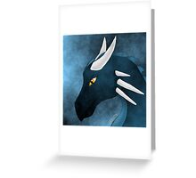 Lonely Dragon Greeting Card