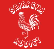 Sriracha Addict Vintage Kids Clothes