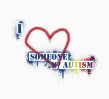 I Love Someone with Autism Kids Clothes
