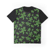 Cactuar print  Graphic T-Shirt