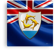 Anguilla - Coat of Arms  Canvas Print