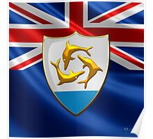 Anguilla - Coat of Arms  Poster