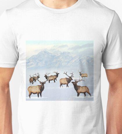 Northern bull elk Unisex T-Shirt