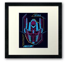Optimus Framed Print