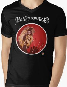 MÖTLEY KRUEGER Mens V-Neck T-Shirt