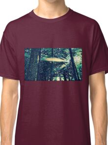 Abstract Natural Pine Forest Classic T-Shirt