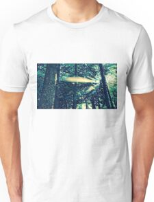 Abstract Natural Pine Forest Unisex T-Shirt