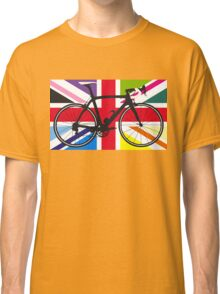 Bike Flag United Kingdom (Multi Coloured) (Big - Highlight) Classic T-Shirt