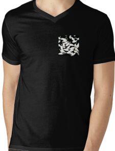 The Swan Break Mens V-Neck T-Shirt