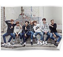 BTS Bangtan Sonyeondan - Photoshoot 2015 Poster