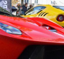Ferrari LaFerrari and F12tdf Sticker