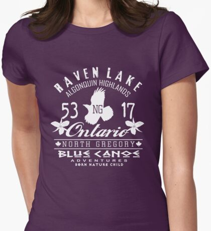 algonquin highlands Womens Fitted T-Shirt