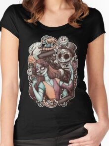 Nightmare de los Muertos Women's Fitted Scoop T-Shirt