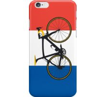 Bike Flag France (Big - Highlight) iPhone Case/Skin