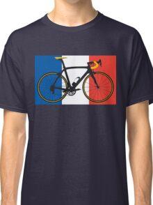 Bike Flag France (Big - Highlight) Classic T-Shirt