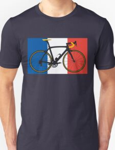 Bike Flag France (Big - Highlight) T-Shirt