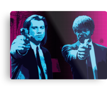Vincent and Jules - Pulp Fiction (Variant 1 of 2) Metal Print