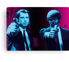 Vincent and Jules - Pulp Fiction (Variant 1 of 2) Canvas Print