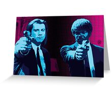 Vincent and Jules - Pulp Fiction (Variant 1 of 2) Greeting Card