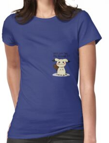 mimikyu Items!  Womens Fitted T-Shirt