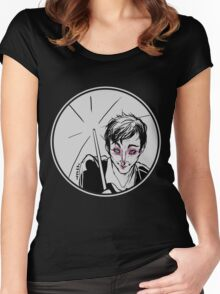 Rainy Gotham Women's Fitted Scoop T-Shirt