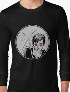 Rainy Gotham Long Sleeve T-Shirt