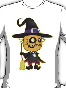 Halloween pumpkin witch T-Shirt