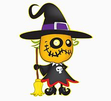Halloween pumpkin witch Unisex T-Shirt