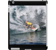 Kelly Slater.3 at 2010 Billabong Pipe Masters In Memory Of Andy Irons iPad Case/Skin
