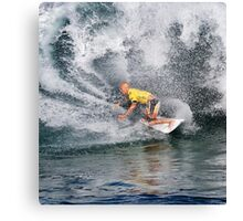 Kelly Slater.3 at 2010 Billabong Pipe Masters In Memory Of Andy Irons Canvas Print