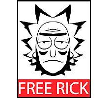 Free Rick (Rick and Morty) Photographic Print