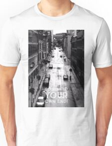 Birmingham sayings - Go play up your own end on photograph Unisex T-Shirt