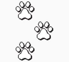 Pixel paw pads! by RRRAX