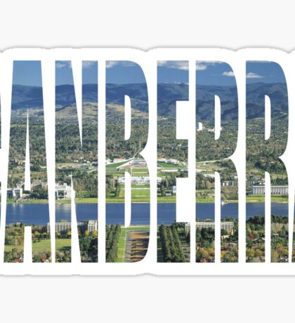 Canberra Sticker