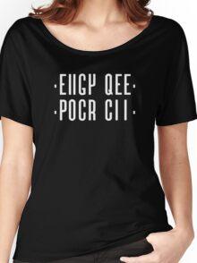 Fuck off the hidden message Women's Relaxed Fit T-Shirt