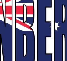 Canberra Sticker