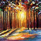 Sun Of January — Buy Now Link - http://goo.gl/K89zzF by Leonid  Afremov